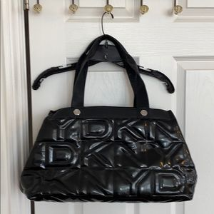 DKNY patent bag